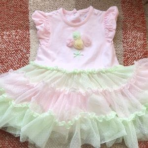 Little Me Onesie With Tutu Attached 18 Month